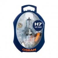 OSRAM Boîte de lampes de rechange halogenes H7 - 12V
