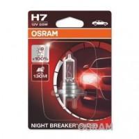 OSRAM Lampe de phare NIGHT BREAKER SILVER H7