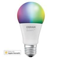 OSRAM Smart+ Ampoule LED Connectée - E27 Standard - Dimmable Couleurs 10W (60W) - Compatible Bluetooth Apple HomeKit