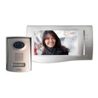 OTIO Interphone vidéo couleur ultra plat 2 fils 7''
