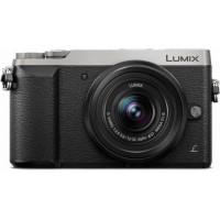 PANASONIC Lumix GX80 Appareil photo Hybride 16 Mp + Optique 12-32mm - Argent et Noir