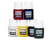 PANDURO Coffret 6 Flacons de Peinture Porcelaine 150 - 20ml x6
