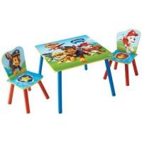 PAT PATROUILLE Ensemble Table Et 2 Chaises Pour Enfant