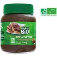 Pâte a tartiner aux noisettes bio - 400 g