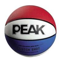 PEAK Ballon de Basket - Tricolore
