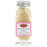 Perles de sucre ivoire