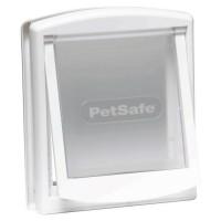 PETSAFE Porte Staywell a 2 positions - Blanc - Pour chat jusqu'a 18 kg