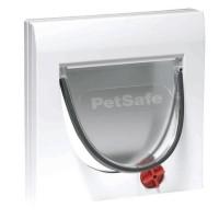 PETSAFE Porte Staywell classique 4 positions et tunnel - Blanc - Pour chat