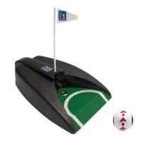 PGA TOUR Pure Putt avec Balle et DVD d'Entraînement - Noir et Vert