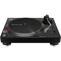 Pioneer PLX-500 Noir - Platine vinyle a entraînement direct 3 vitesses (33-45-78 trs/min) avec pré-ampli intégré et port USB