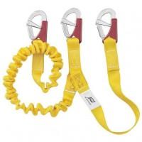 PLASTIMO Longe Db ISAF elastique 3 mousquetons double sécurité + indicateur