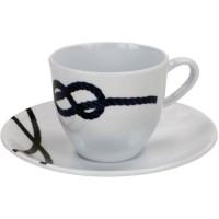 PLASTIMO Tasse et sous tasse café Pacific