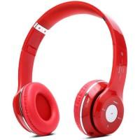 PLATYNE CAS 15 Casque Bluetooth avec lecteur MP3 et micro intégré - Rouge