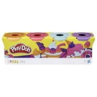 Play-Doh ? 4 pots de Pâte A Modeler - Couleurs Sorbets - 112 g chacun