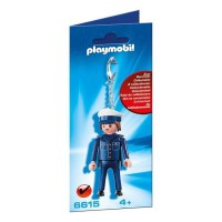 PLAYMOBIL 6615 Porte-clés Policier