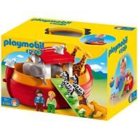 PLAYMOBIL 6765 - PLAYMOBIL 1.2.3 - Arche de Noé Transportable
