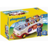 PLAYMOBIL 6773 - PLAYMOBIL 1.2.3 - Autocar De Voyage