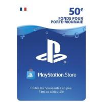 Playstation Network Live Card 50 ? PS4 - PS3 - PS VITA
