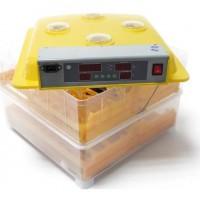 POILS & PLUMES Kit couveuse automatique 112 oeufs - 50 x 47 x 37 cm - Jaune