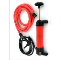 Pompe de transvasement rouge et noire