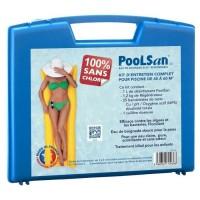 POOLSAN Kit complet de désinfection - 100% sans chlore - Pour piscines de 45 a 60 m³