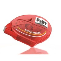 PRITT Roller de colle Rechargeable Permanent - 8,4 mm x 16 m - Etui