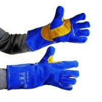 PROWELTEK Gant de soudeur anti-chaleur bricolage doublure coton