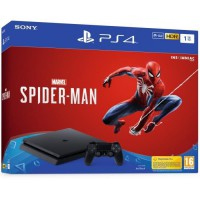 PS4 1 To Noire + Marvel's Spider-Man Edition Standard