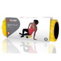 PURE2IMPROVE Rouleau Souple Roller soft - Fitness - Jaune