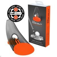 PUTTOUT Appareil d'entraînement de golf pour le putting - Orange