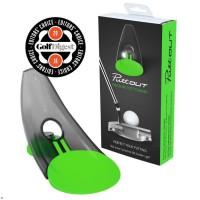 PUTTOUT Appareil d'entraînement de golf pour le putting - Vert