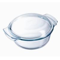 PYREX - 112A000/7043 - Cocotte ronde - 29cm * 23 cm - Pyrex Classic - 2,5L + 1L