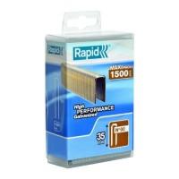 RAPID 1500 agrafes 90/35mm galvanisées