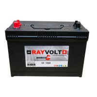 RAYVOLT Batterie Marine Décharge Lente - 12V - 110AH