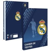 REAL MADRID Cahier de Texte 193RMA102STD - Lundi au samedi - Couverture cartonnée souple - Papier PEFC Imprim'vert - 15 x 21 cm