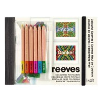 REEVES Cartes Postales a colorier - Univers Cosmos