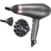 REMINGTON AC8820 Keratin Protect Seche-cheveux 2200W - 2 concentrateurs + 1 diffuseur - Gris