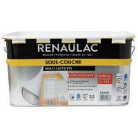 RENAULAC Sous-couche multi-supports - 2,5 L - Blanc