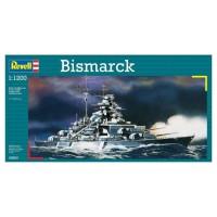 REVELL Model-Set Bismarck - Maquette