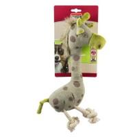 RIGA Girafe peluche - Carte brochable - Pour chien