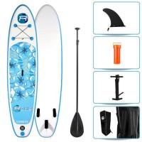 ROHE Pack Paddle Gonflable Flower - 320x76x15cm - Avec accessoires