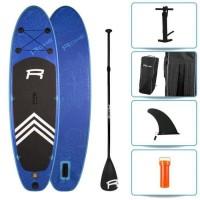 ROHE Pack Paddle Gonflable Havane I - 274x76x13 cm - Bleu - Avec accessoires