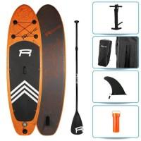 ROHE Pack Paddle Gonflable Havane II - 274x76x13 cm - Orange - Avec accessoires