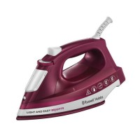 Russell Hobbs 24820-56 Fer a Repasser Vapeur Light and Easy, Défroissage Vertical Possible - Violet