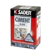SADER Boite Ciment - Blanc - 1kg