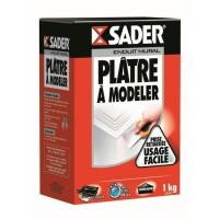 SADER Boîte Plâtre a modeler Poudre - 1kg