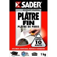 SADER Boîte Plâtre fin Poudre - 1kg