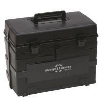 SAKURA Boîte multirangement pour la peche Sk-9810 - Noir fumé