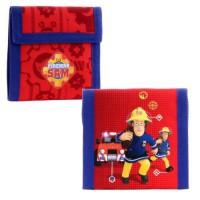 SAM LE POMPIER Porte-monnaie - 10cm - Rouge