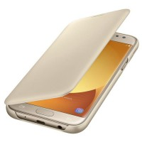 Samsung Etui Flip Wallet J5 2017 - Or